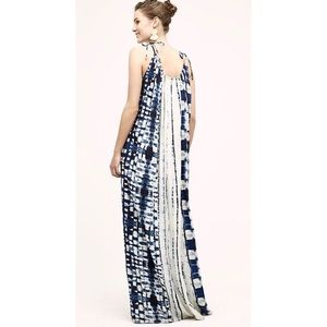 HOLDING HORSES shivering tie dye maxi dress